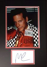 MICKEY ROURKE - LEGENDARY AMERICAN ACTOR & BOXER - SUPERB SIGNED PHOTO DISPLAY