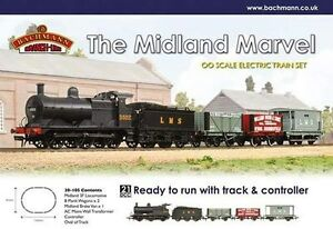 Bachmann Midland Marvel Trainset 30-105 Brand New