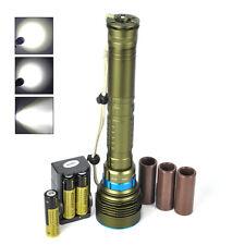 20000Lm 7*XM-L2 LED Torche Lampe Plongée Etanche Eclairage Diving 18650 Chargeur