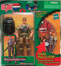 G.I. Joe Spy Troops Recondo Action Figure with Mission Disc 1 NEW