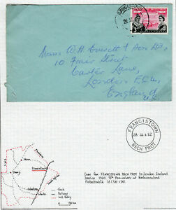 BECHUANALAND PROTECTORATE 1960 COVER TO ENGLAND.   A836