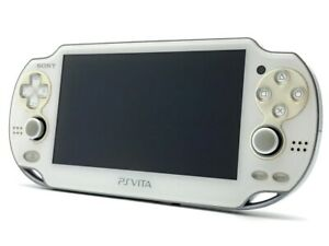 SONY PS Vita PCH-1000 Crystal White Wi-Fi OLED Console