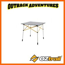 OZTRAIL SLAT TABLE - GREY CAMPING OUTDOORS