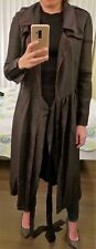 100% Authentic Burberry Silk Trench Dress, Size US 2