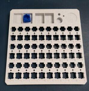 Cherry MX Mechanical key Switch Lube Station 30 holes design white PLA v1.1