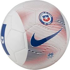 Nike Chile Supporters Season 2018 Fan Soccer Ball White - Red - Blue Size 5