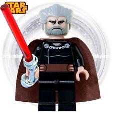 LEGO Star Wars Minifigures - Count Dooku ( Clone Wars : 7752 , 9515 ) Minifigure