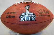 SUPER BOWL 49 XLIX - Wilson Official Game Football (PATRIOTS SEAHAWKS )