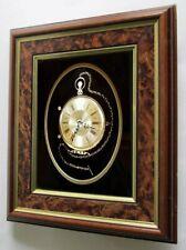 Ken Broadbent FRAMED Pocket Watch CLOCK              made w/ clock / watch parts