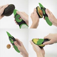 3 En 1 Avocat Melon Slicer Peeler Splits Tronçonneuse Eplucheur Coupe Pitter NF