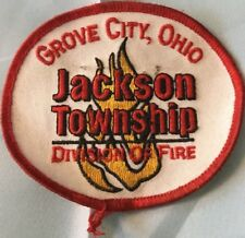 Aufnäher Grove City, Ohio Jackson Township Division of Fire Guter Zustand