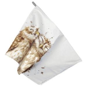 Pimpernel Wrendale Owl Tea Towel