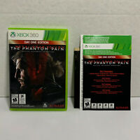 Metal Gear Solid V: The Phantom Pain (Microsoft Xbox 360, 2015) COMPLETE! TESTED