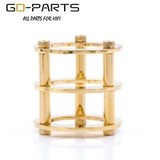 GOLD PLATED Generic Tube Guard Protector Cover For 12AX7/12AT7/ECC83/6922/5687