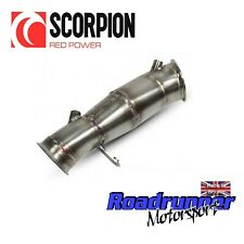 Scorpion BMW M135i De-cat Downpipe Exhaust Stainless Fits June 2013 SBMC067
