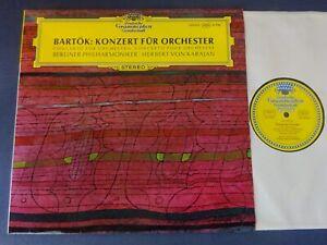 TULIPS NM BARTOK - CONCERTO FOR ORCHESTRA LP, Berlin P/O, Karajan, DG 139 003