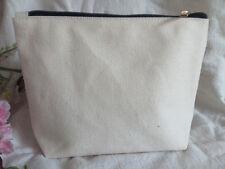 40x Eco Custom Blank Canvas Makeup bag Wallet clutch bag Pencil Case Organizer