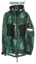 STONE ISLAND Alligator Camo Parka Jacket Size L