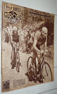 BUT & CLUB MIROIR SPORTS #306 1951 CYCLISME TOUR FRANCE GEMINIANI KOBLET VENTOUX