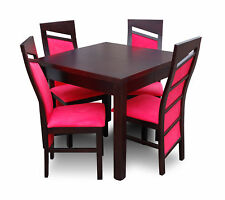 Dining Table Esstische Office Wood Besprechungs Conference Table+4 Chairs