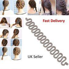 French hair braiding tool roller with hook Magic hair Twist Styling Bun maker