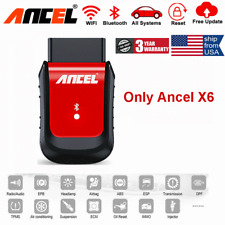 Ancel X6 OBD2 Automotive Diagnostic Scanner Tool Airbag Oil Reset EPB DPF BMS