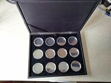 Case For 12 Royal Mint Lunar Coins CAPSULES INCLUDED