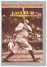 March 18, 1974 Babe Ruth New York Yankees Sports Illustrated NO LABEL
