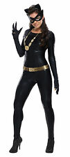 Womens Deluxe Grand Heritage Catwoman Costume Classic Batman TV Show Size Small