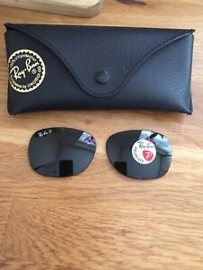 Ray Ban Wayfarer Polarized Lenses 2132 Size 55-18 Brand New Glass Lenses