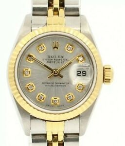 Rolex Oyster Perpetual 2 Tone Datejust gold & Stainless Steel