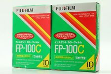 【NEW 2 Packs】 FujiFilm FP-100C Instant Color film Expired 2014 From JAPAN #376