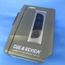 SANYO Cassette Recorder MR-37(K) Vintage Retro Portable WORKING