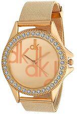 Brand New Unique Attractive Designer Copper Color Wrist Watch For Girls & Women