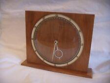 VINTAGE RETRO 1950'S MANTLE DESK CLOCK  KIENZLE  GERMANY HEINRICH MOELLER DESIGN