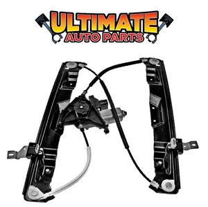 Front Power Window Regulator Drivers Left w/Motor for 03-05 Lincoln Aviator