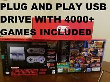 Super Nintendo mini SNES Classic Edition System Not Yet Modded USB 4000+ Games