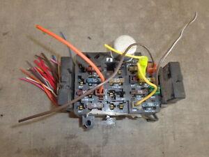Fuse Box AMC Eagle 4DR 4X4 & Limited 80 81 82 83 84 85