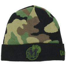 Dallas Mavericks New Era Army Camo NBA HWC Logo Knit Beanie Hat Cap Fashion Cuff