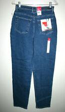"NEW Vintage Womens GLORIA VANDERBILT High 13"" Rise Mom Blue Jeans 10 Long NWT"