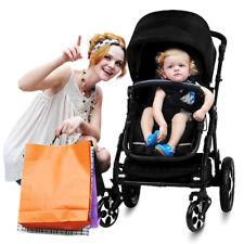 Baby Prams &  Strollers Bassinet Reversible Adjustable Light Strong Easy Folding