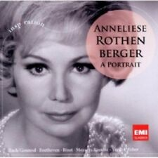 ANNELIESE ROTHENBERGER - ROTHENBERGER-A PORTRAIT BEETHOVEN MOZART UVM CD NEW+