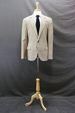 NWT.$4745 Brunello Cucinelli Mens Silk-Linen Brown Houndstooth 2Pc Suit 50/40US