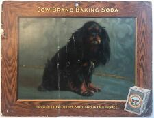 Dogs New Series - Cow Baking Soda Store Display Card Sign - Prince Charles Spani
