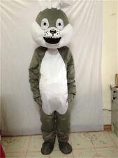 Unisex NEW Style Husky Wolf Mascot Costume Party Dog Suit Professional Animal @@