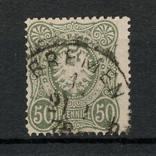 (YYAA 089) GERMANY 1877 USED Mich 38 Sc 35 REICHSPOST Reich