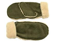 Mittens with Barber Fleece Lining Green