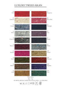 Debbie Bliss Donegal Luxury Tweed Aran - 50g - 100% Wool