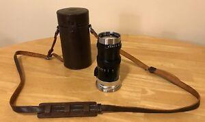 Nikon Nippon Kogaku Nikkor-Q Lens 1:3.5 F=13.5 cm (Read Below)