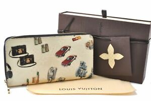 Louis Vuitton Nicolas Ghesquiere Zippy Wallet Wallet White M50370 Box LV C6687